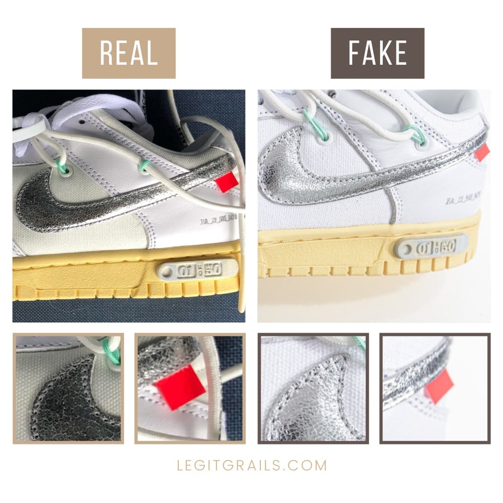 Nike Dunk Off-White The 50 Sneakers Authentication