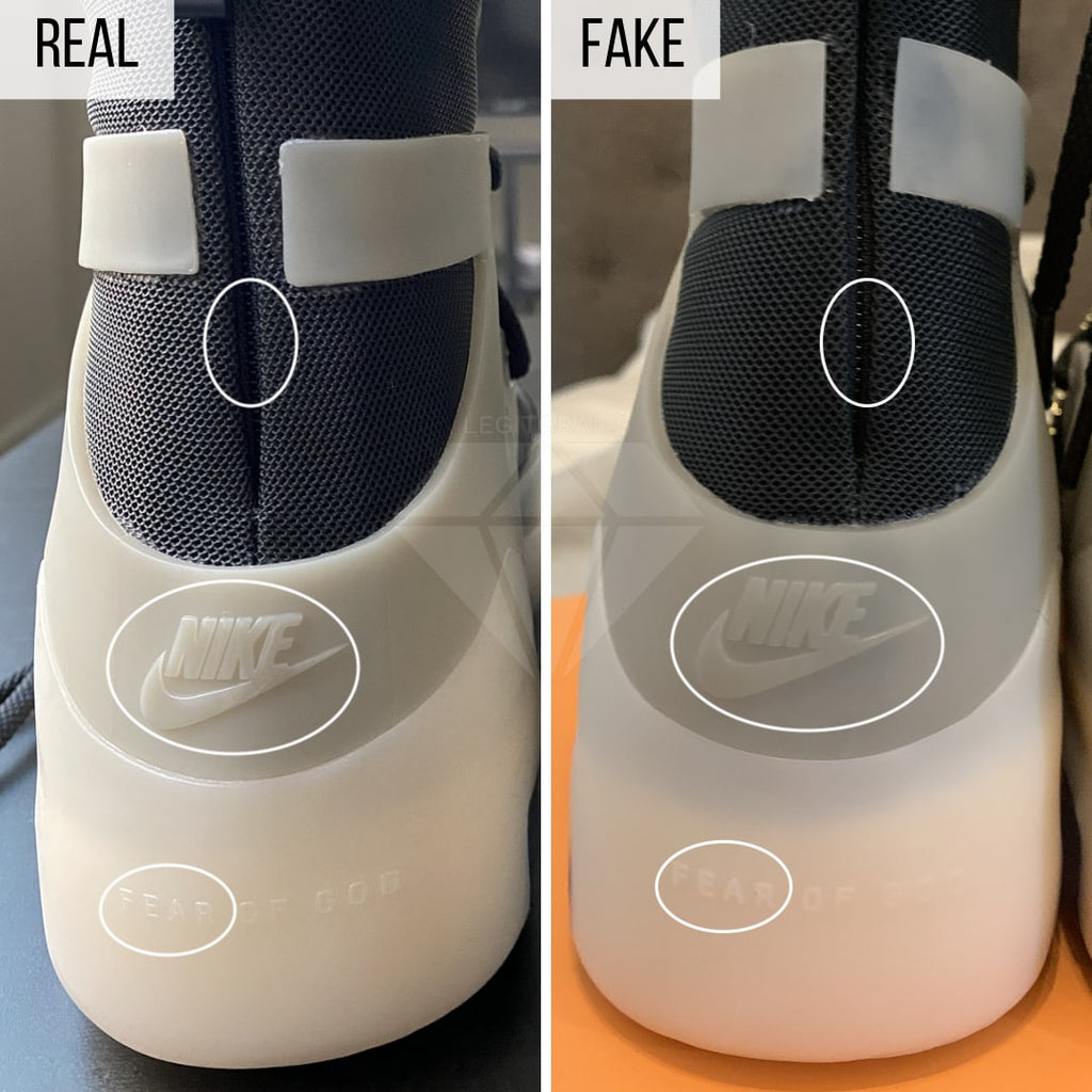 Nike X Air Fear Of God Godkiller Real VS Fake