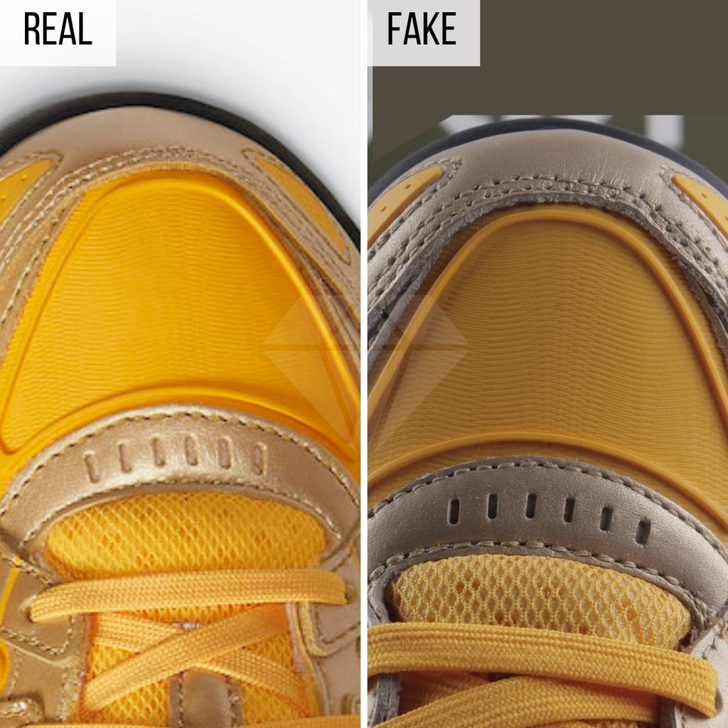 OW Rubber Dunks Real vs Fake
