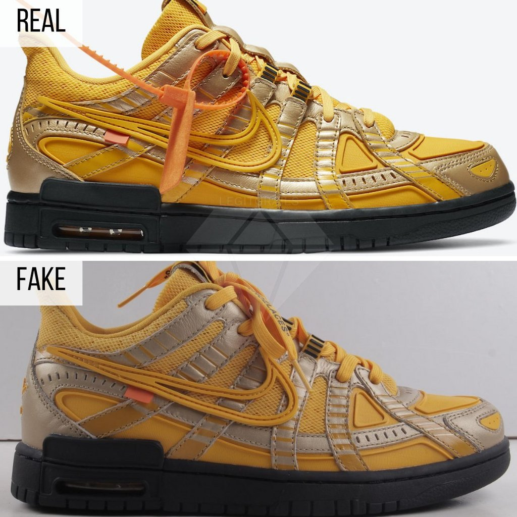Off White Rubber Dunk Authentication - Off White Real vs Fake