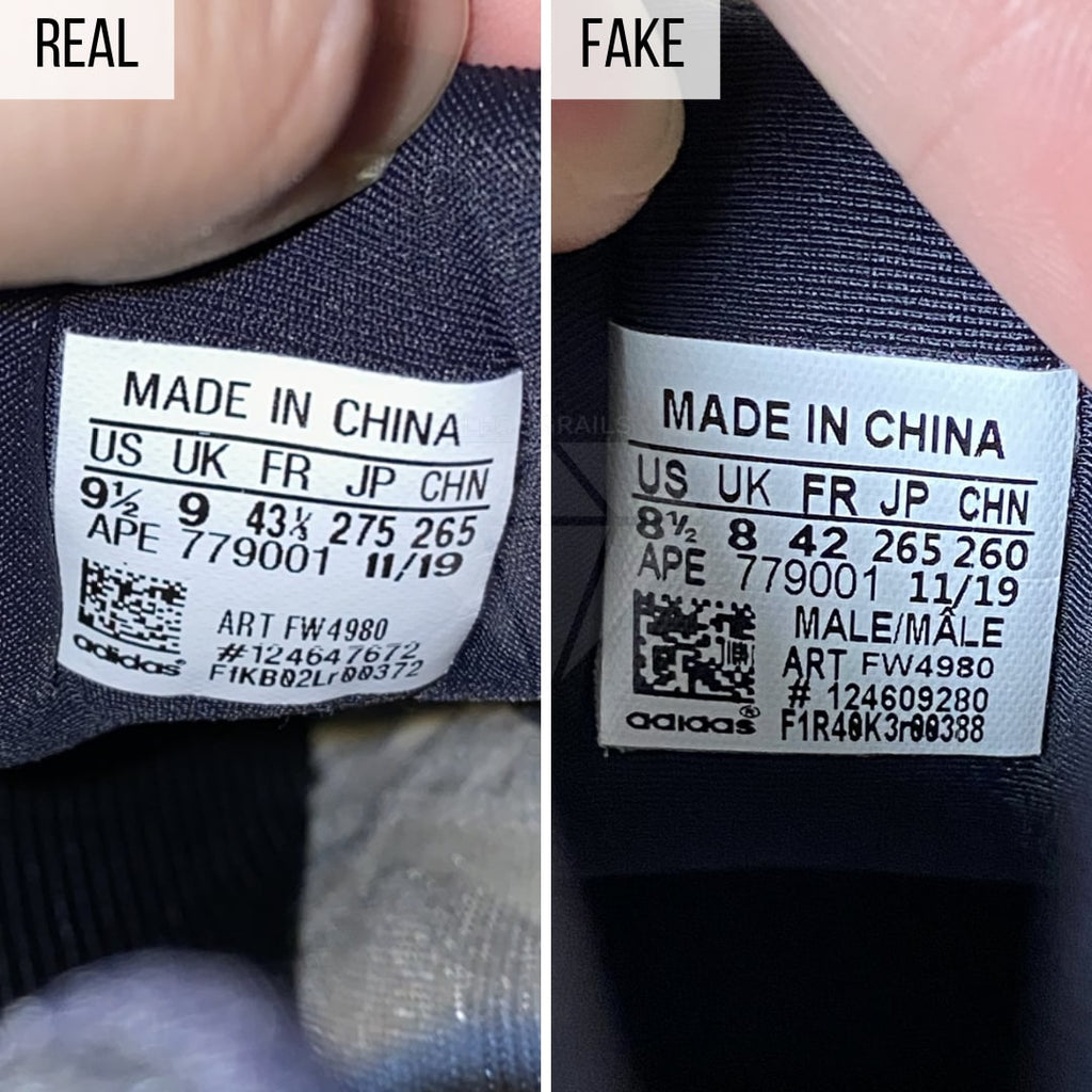 Real VS Fake Yeezy 700 V3 Azael