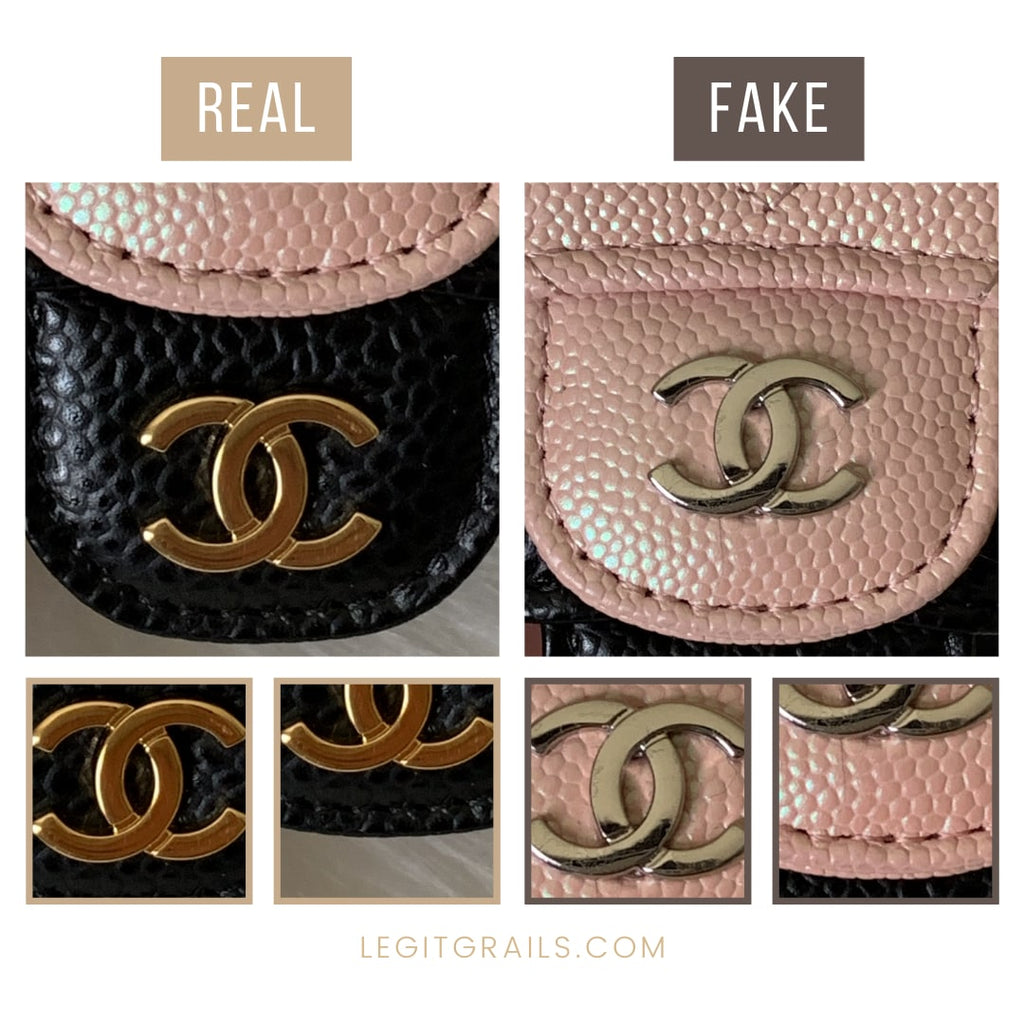 Real Vs Fake Chanel Wallet