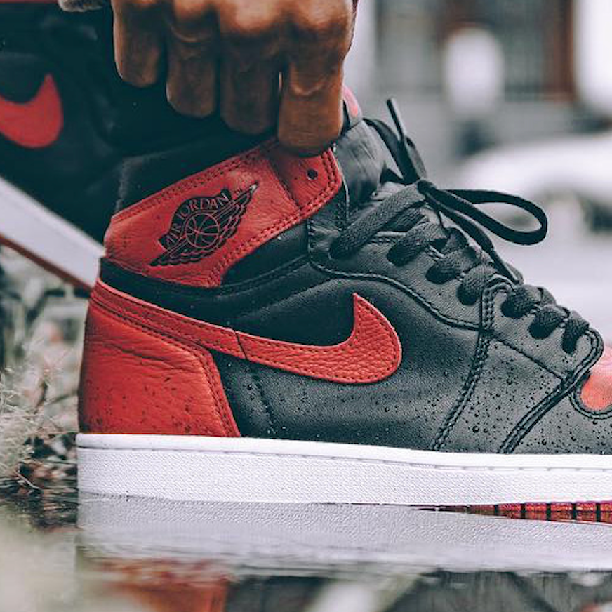 How To Spot Fake Jordan 1 Retro Bred 'Banned' 2016