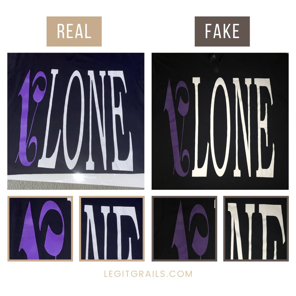 Vlone Palm Angels Tee Real vs Fake