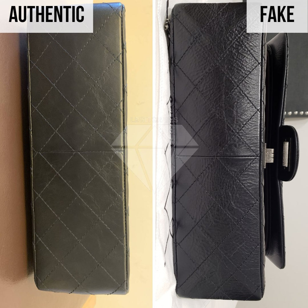 Chanel 2.55 Bag Authentication Guide: The Bottom of the Bag Method