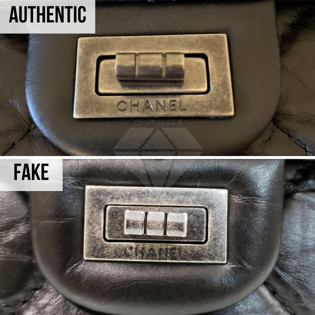 Chanel 2.55 Bag Authentication Guide: The Mademoiselle Turnlock Method
