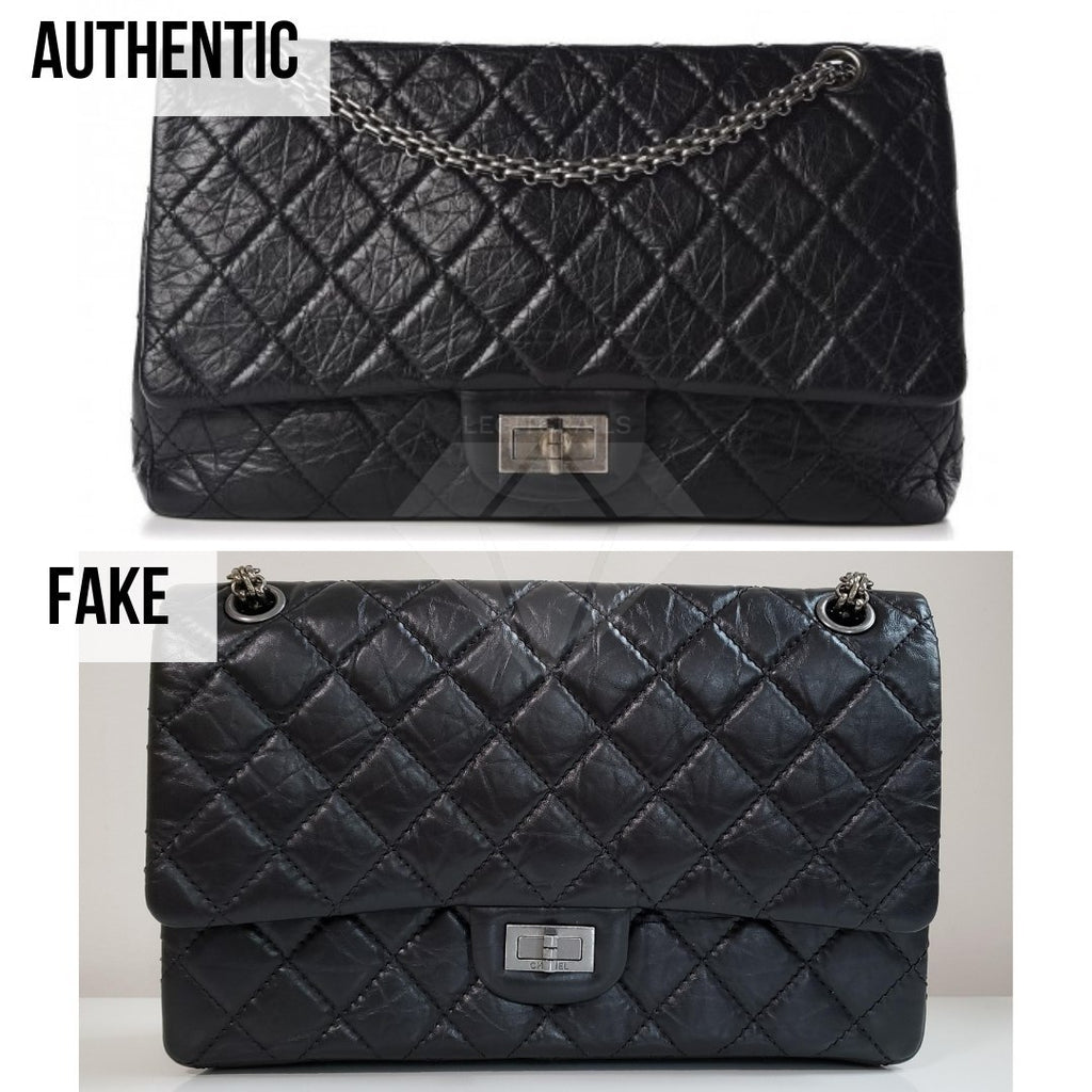 Chanel 2.55 Bag Authentication Guide: The Overall Shape Method