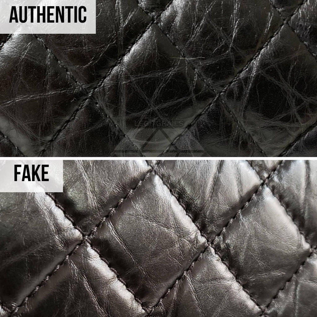 Chanel 2.55 Bag Authentication Guide: The Calfskin Texture Method