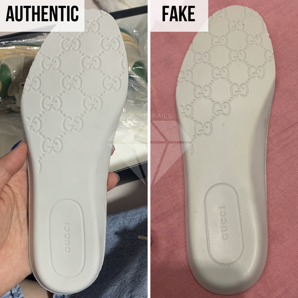 The Backside Insole Method | How to authenticate Gucci