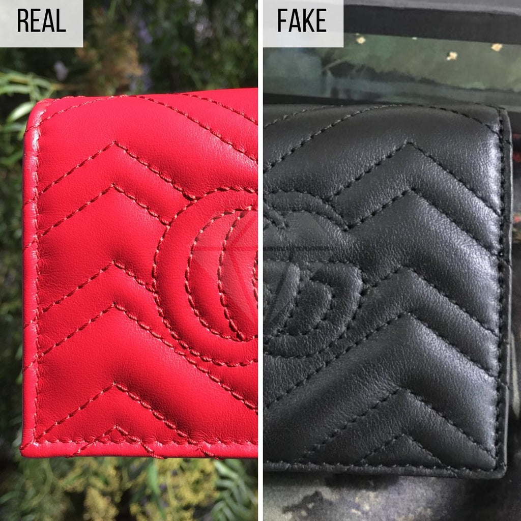 How To Spot a Fake Gucci Wallet: The Back Side Method