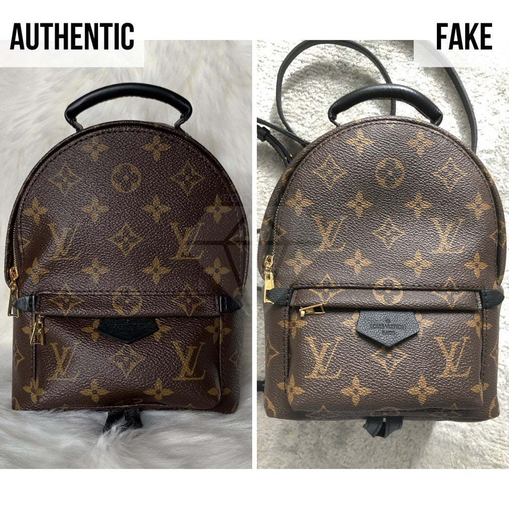 How To Tell If Louis Vuitton Palm Springs Mini Is Authentic: The Overall Look Method