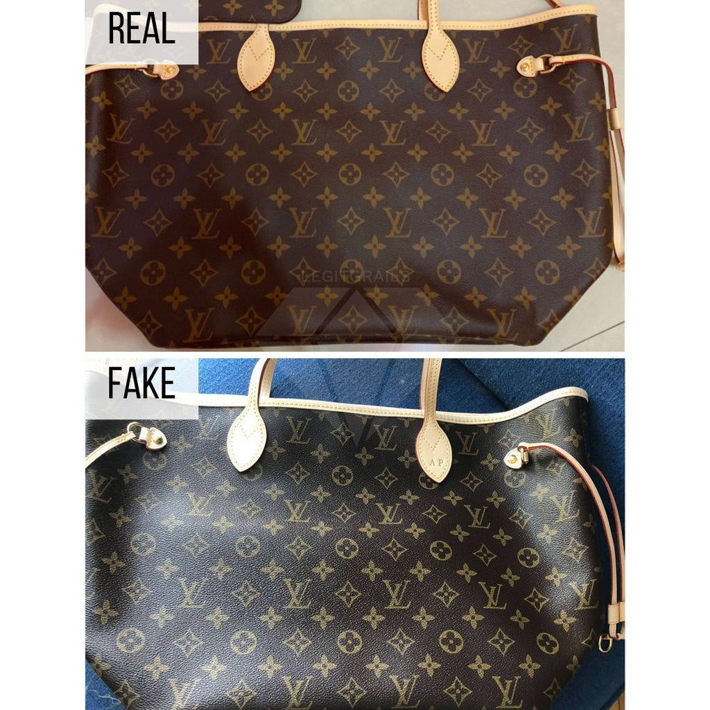 How To Spot a Fake Louis Vuitton Neverfull MM: The General Look Method