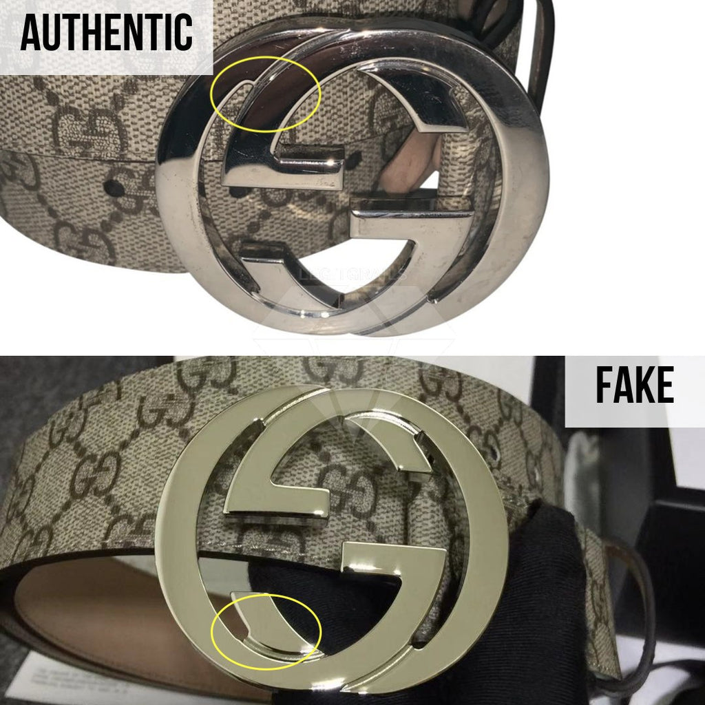 Gucci Supreme Belt Authentication Guide: The Buckle Method