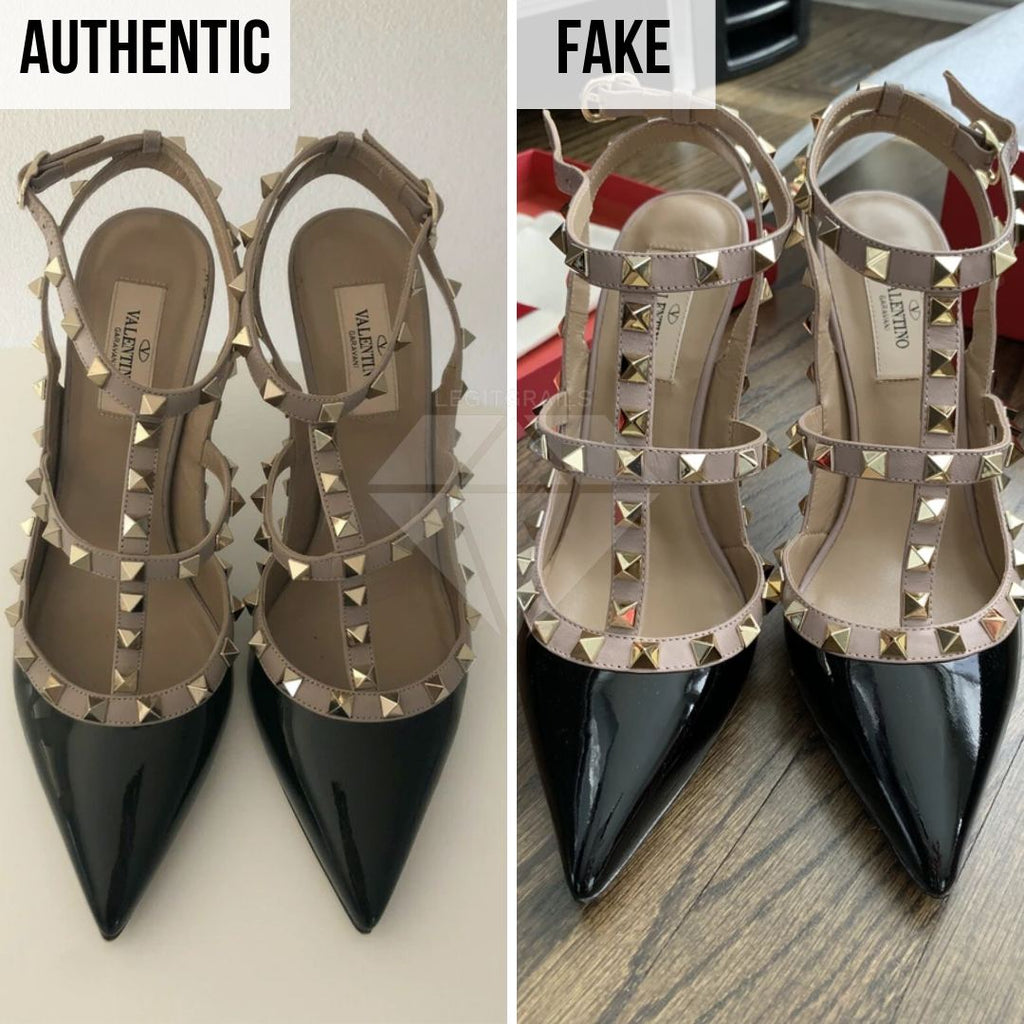 Valentino Rockstud Pumps Fake VS Real Guide: The Overall Look Method