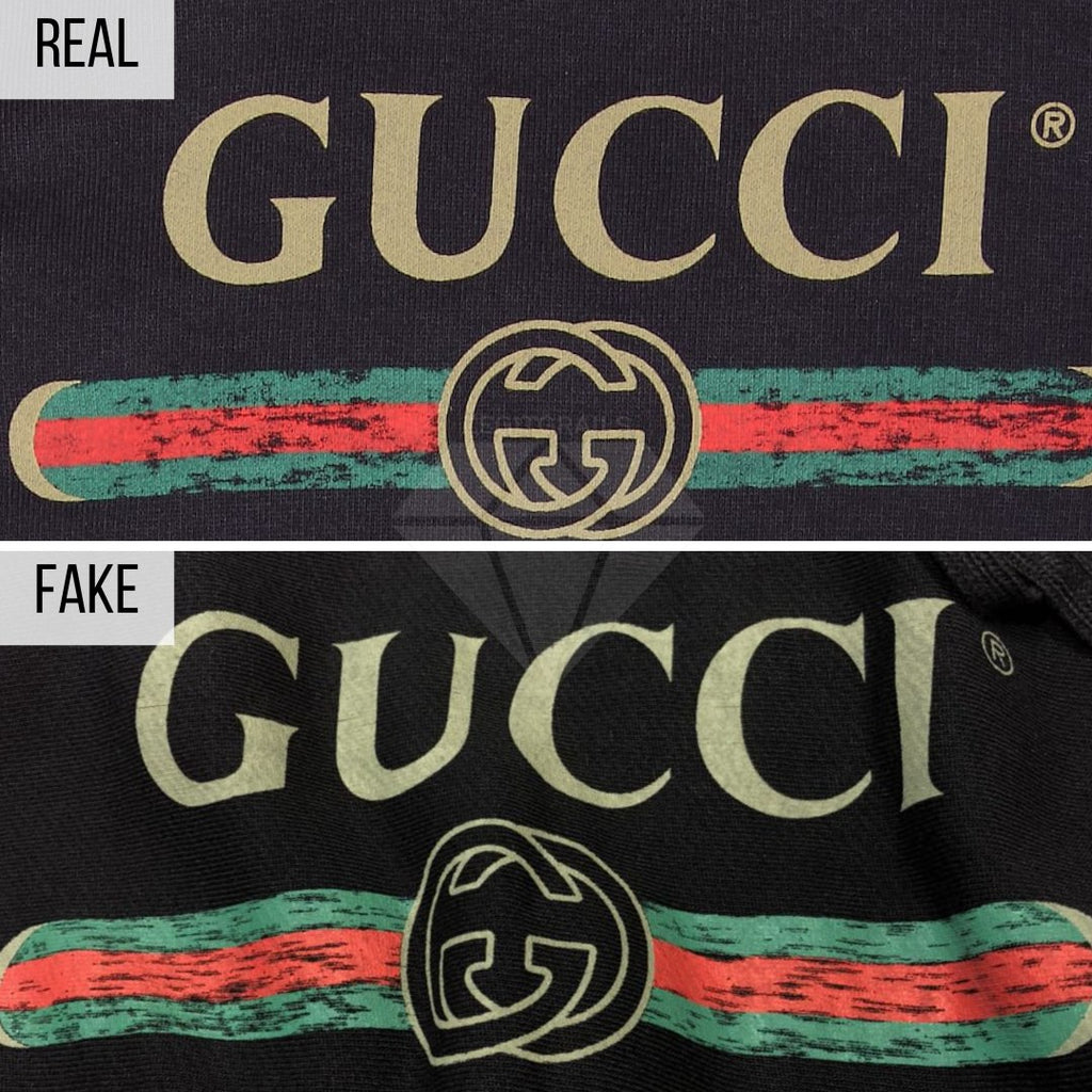How To Spot a Fake Gucci Hoodie: The General Look Method (Gucci Belt Logo Hoodie)