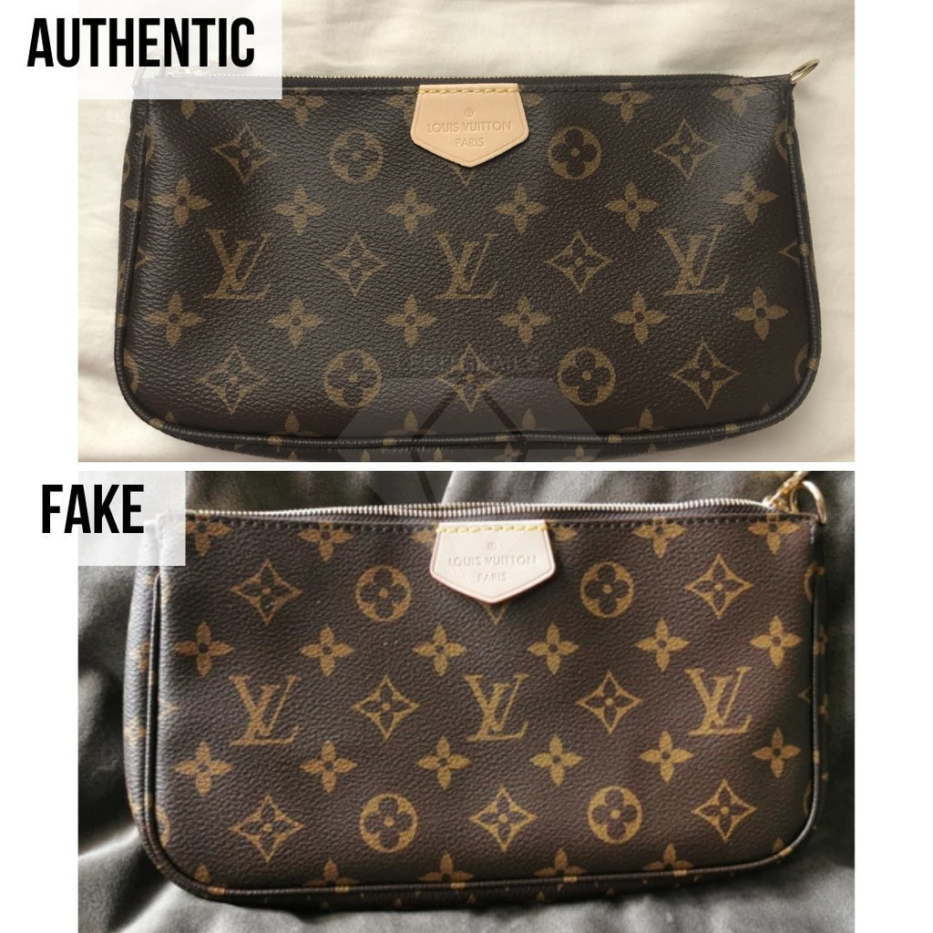Louis Vuitton Multi Pochette Accessories Real VS Fake Guide: The Overall Look Method (Large Pochette)