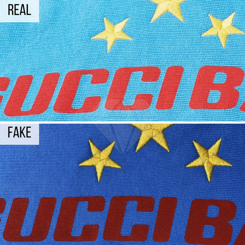 How To Spot a Fake Gucci Hoodie: The General Look Method (Gucci Band Hoodie)