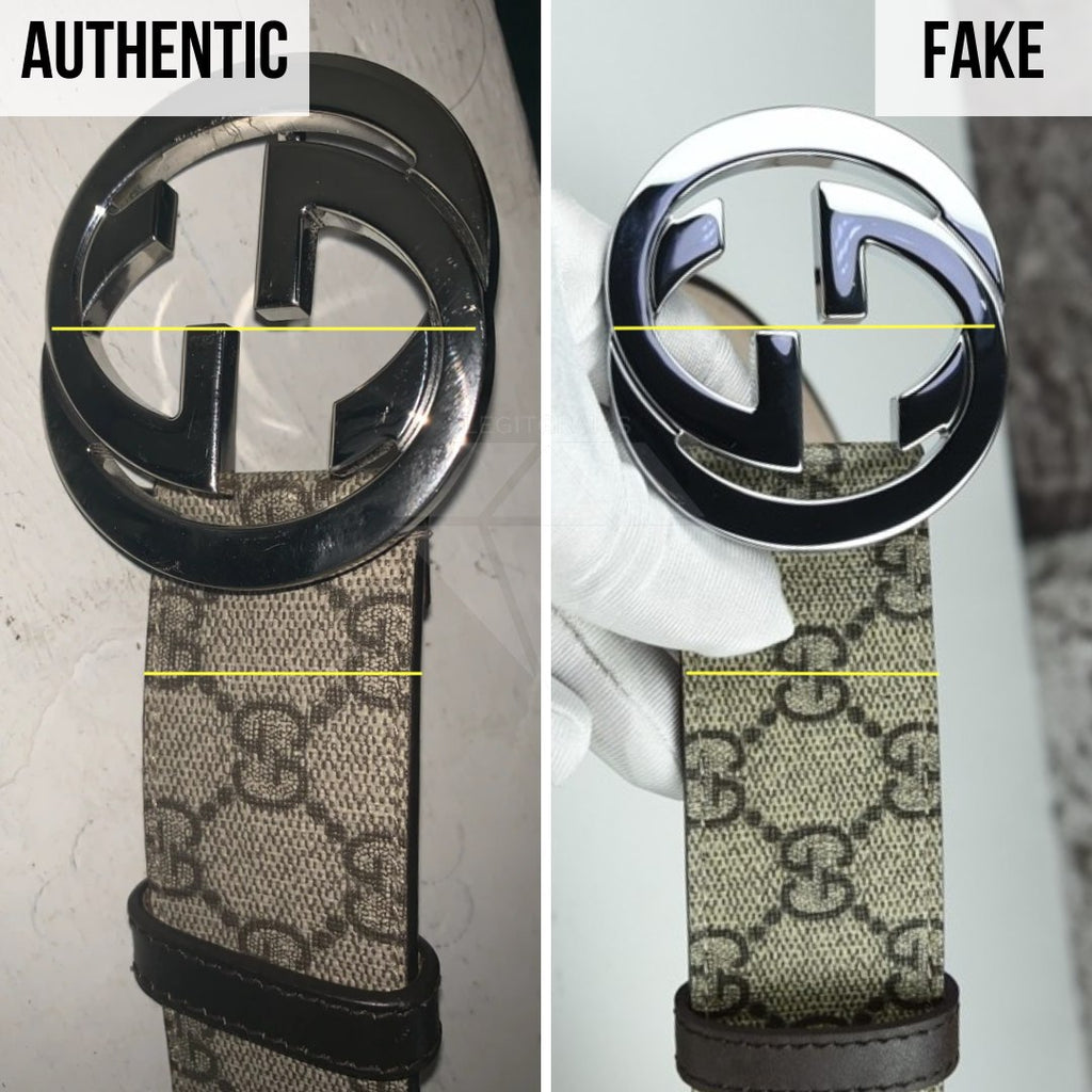 Gucci Supreme Belt Authentication Guide: The Sizing Method