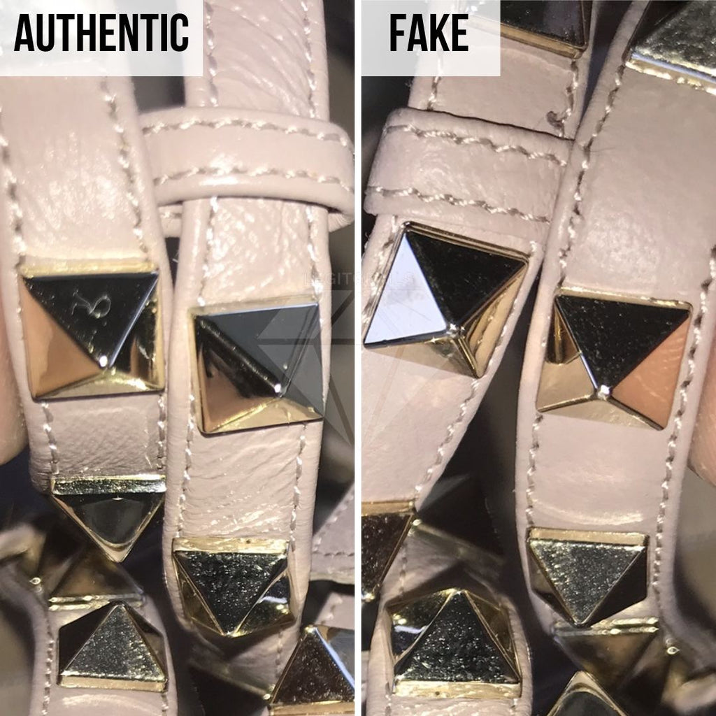 Valentino Rockstud Pumps Fake VS Real Guide: The Studs Method