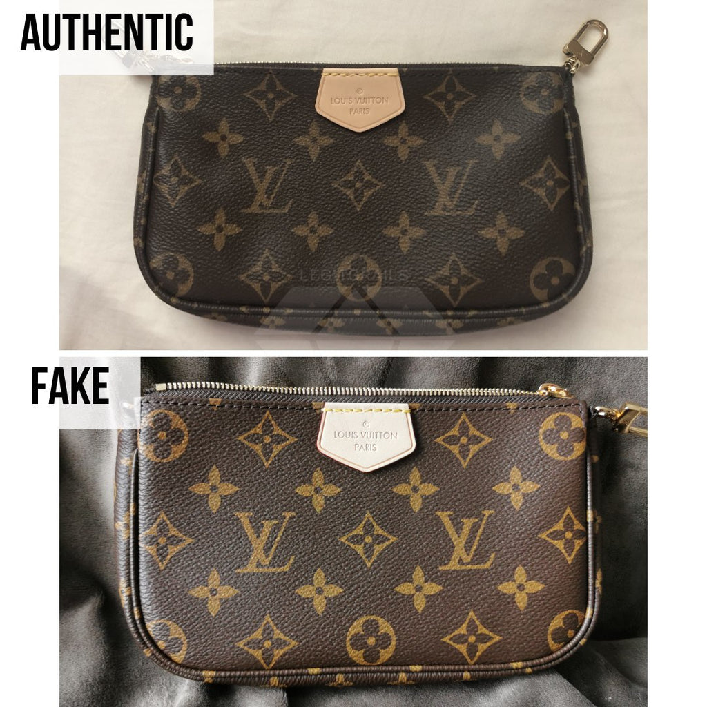 Louis Vuitton Multi Pochette Accessories Real VS Fake Guide: The Overall Look Method (Small Pochette)