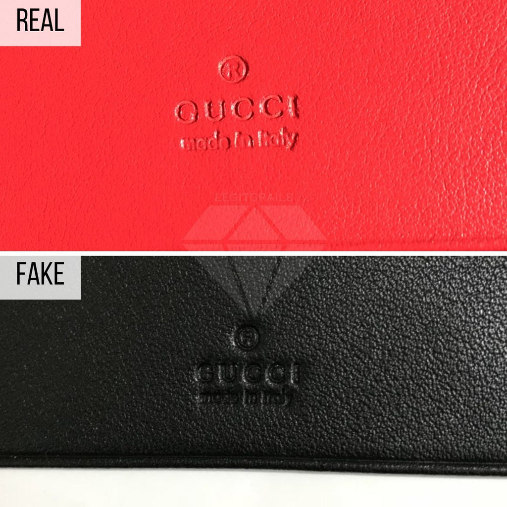 How To Spot a Fake Gucci Wallet: The Signature Method