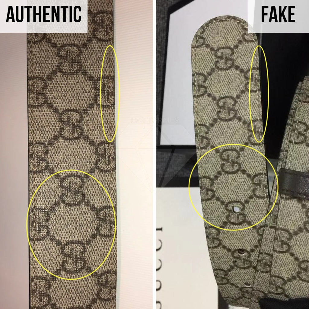 Gucci Supreme Belt Authentication Guide: The Pattern Method