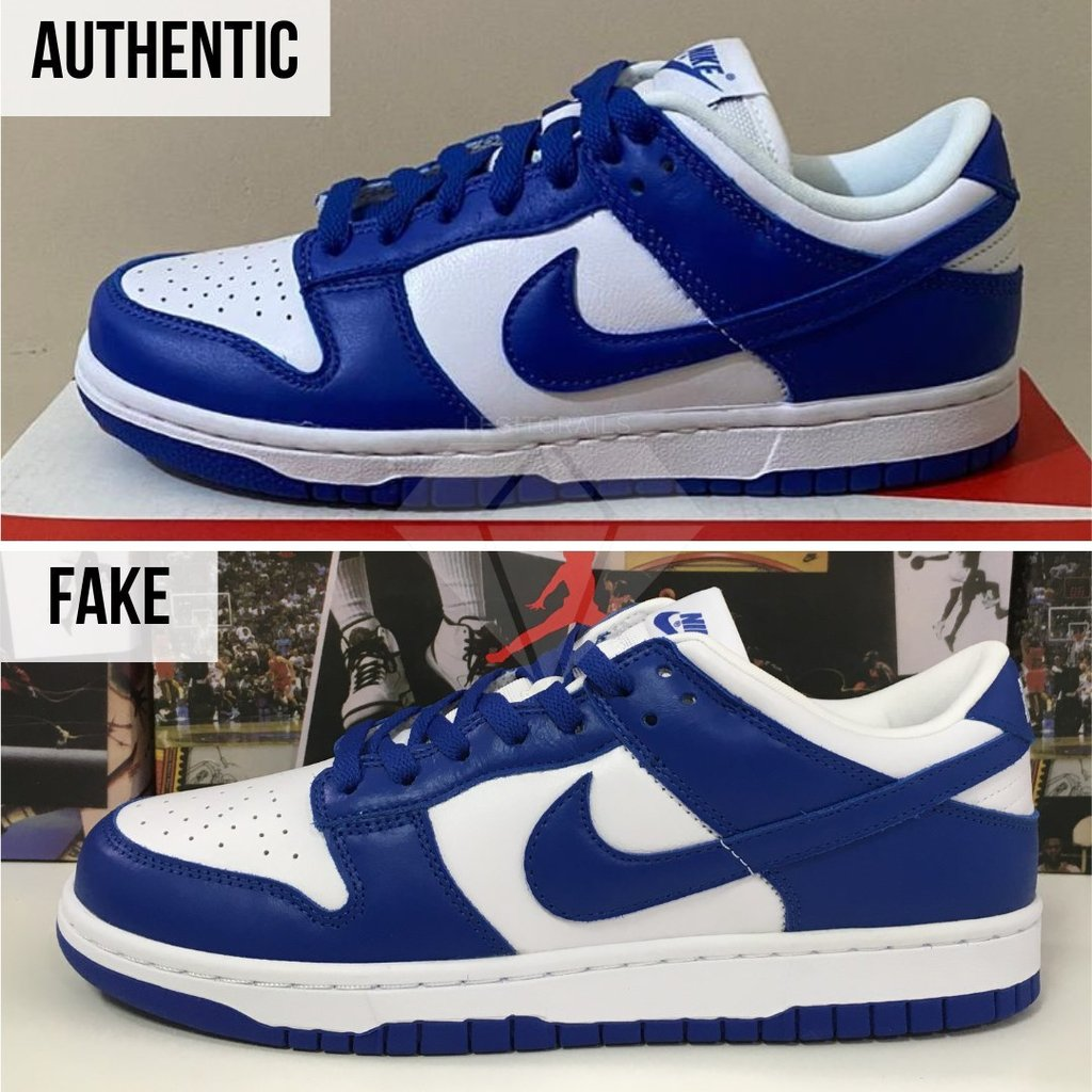 How To Authenticate Nike Dunk: The Overall Look Method (Nike Dunk Low Kentucky Authentication)