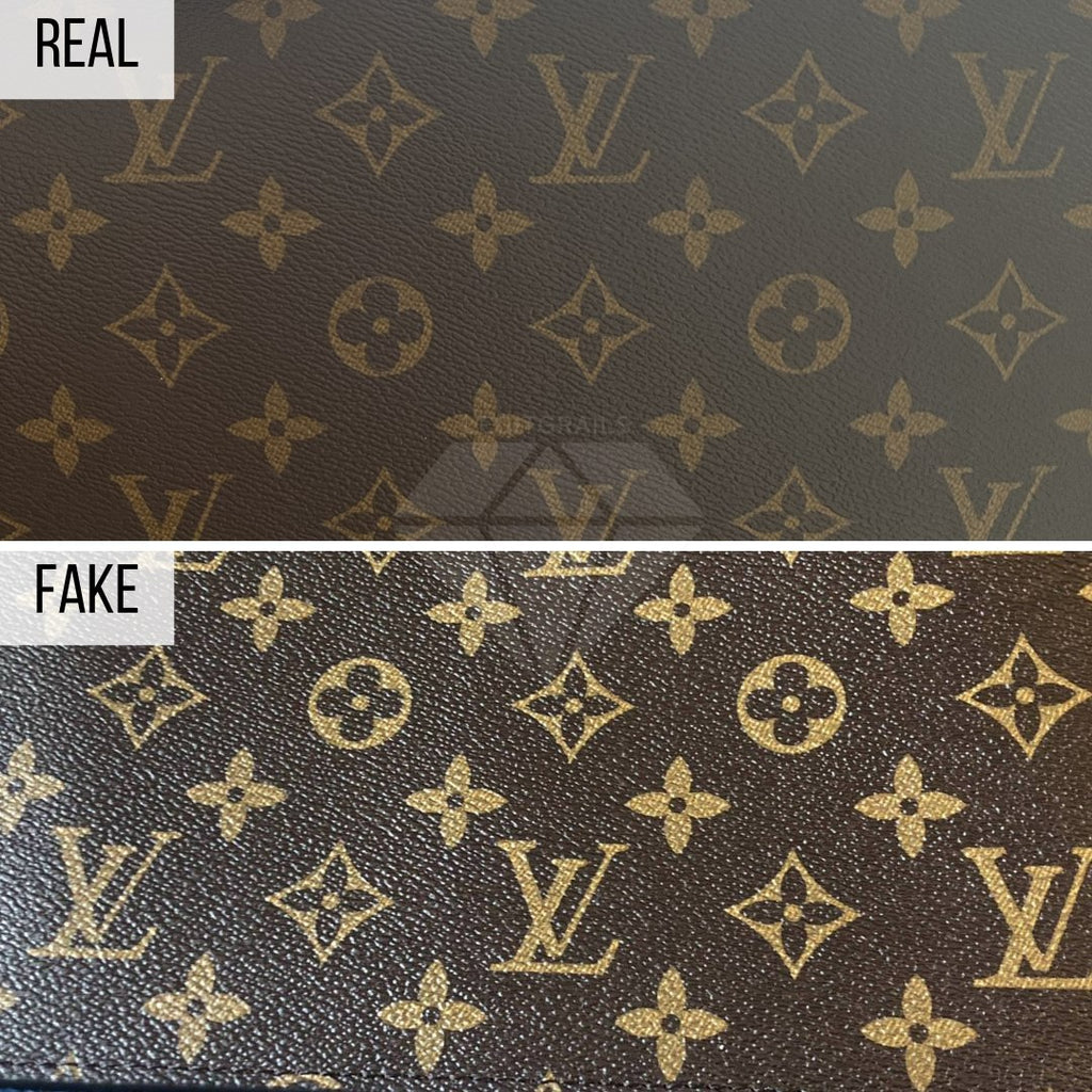 How To Spot a Fake Louis Vuitton Neverfull MM: The Print Method