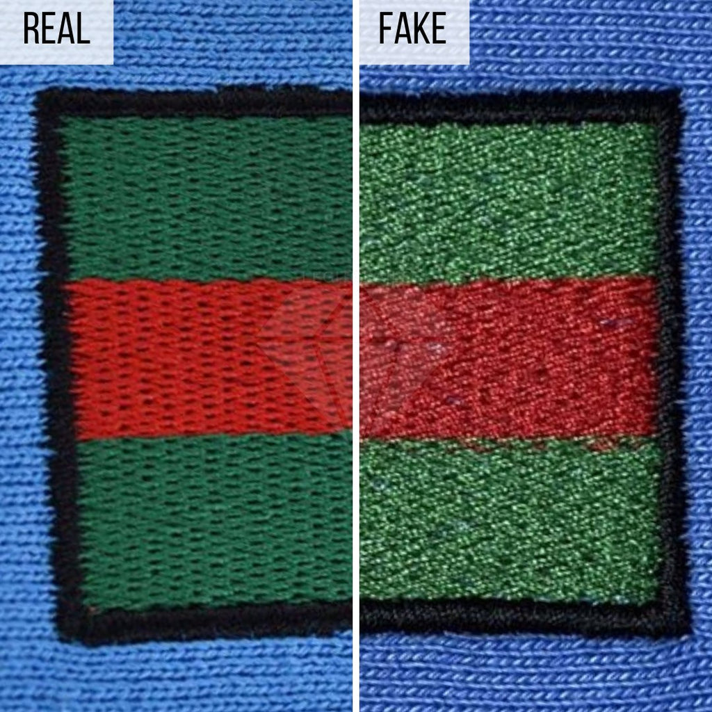 How To Spot a Fake Gucci Hoodie: The Gucci Strap Method