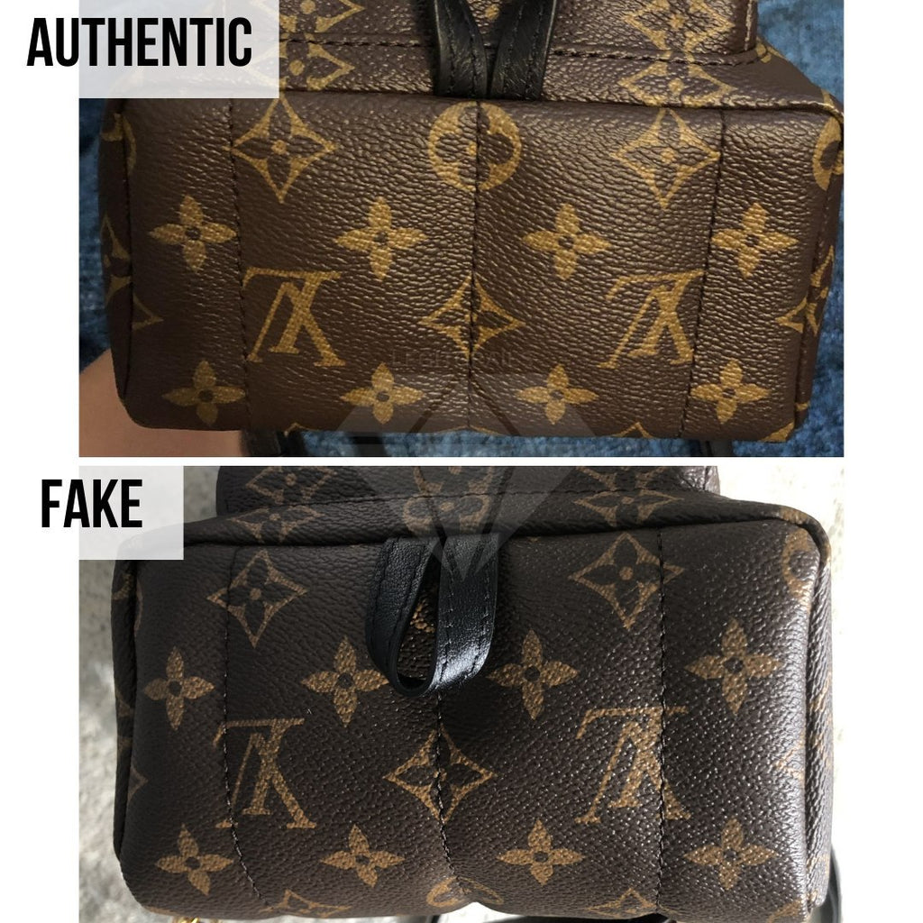 How To Tell If Louis Vuitton Palm Springs Mini Is Authentic: The Bottom Sides Method