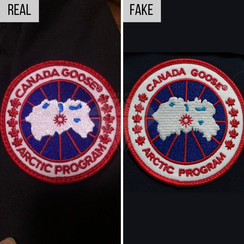 How To Spot a Fake Canada Goose Jacket: The Logo Method