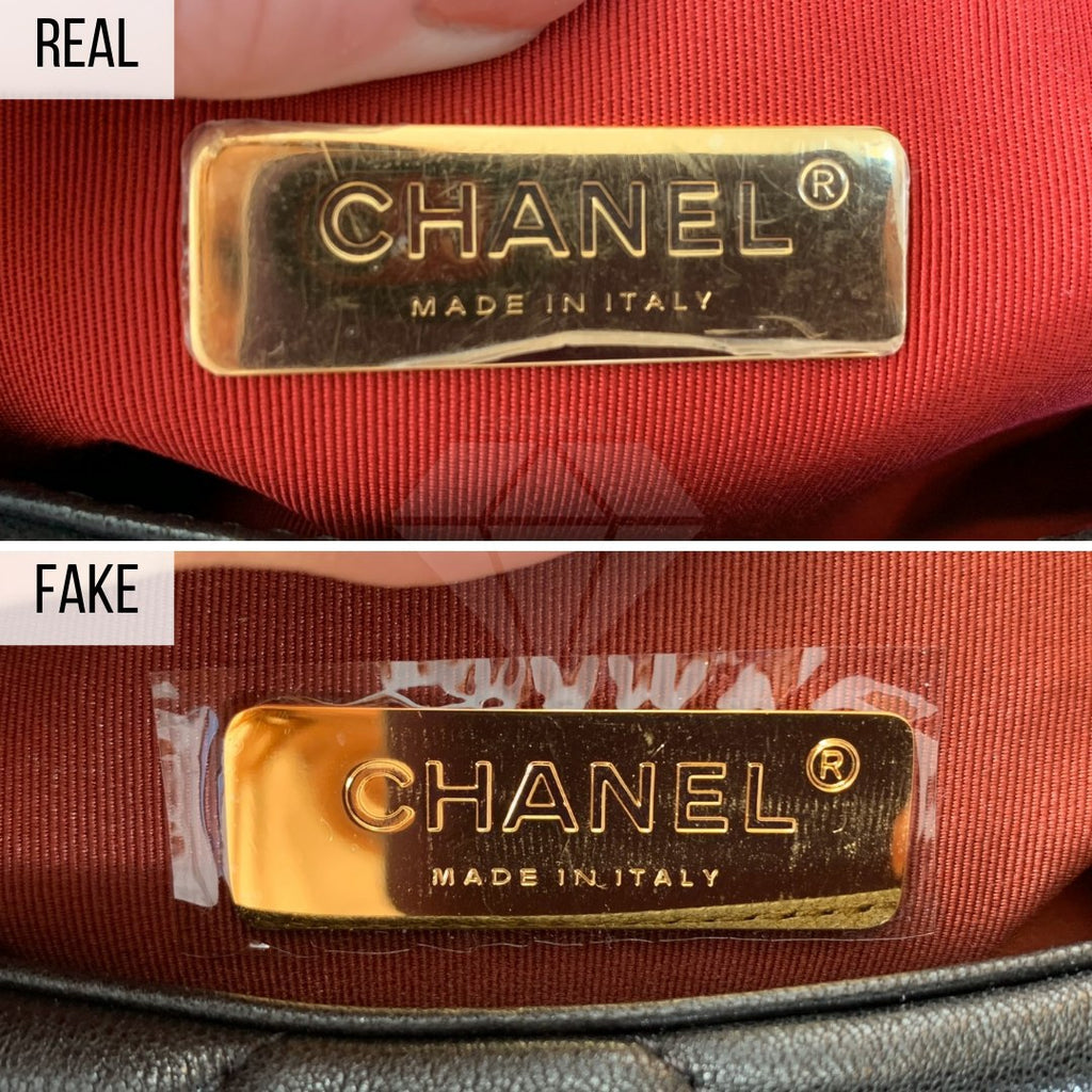 Chanel 19 Bag: The Label Method
