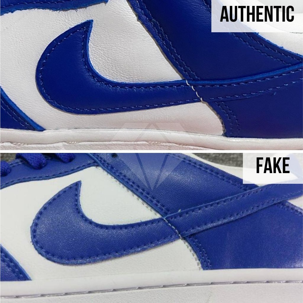 How To Authenticate Nike Dunk: The Outer Swoosh Method