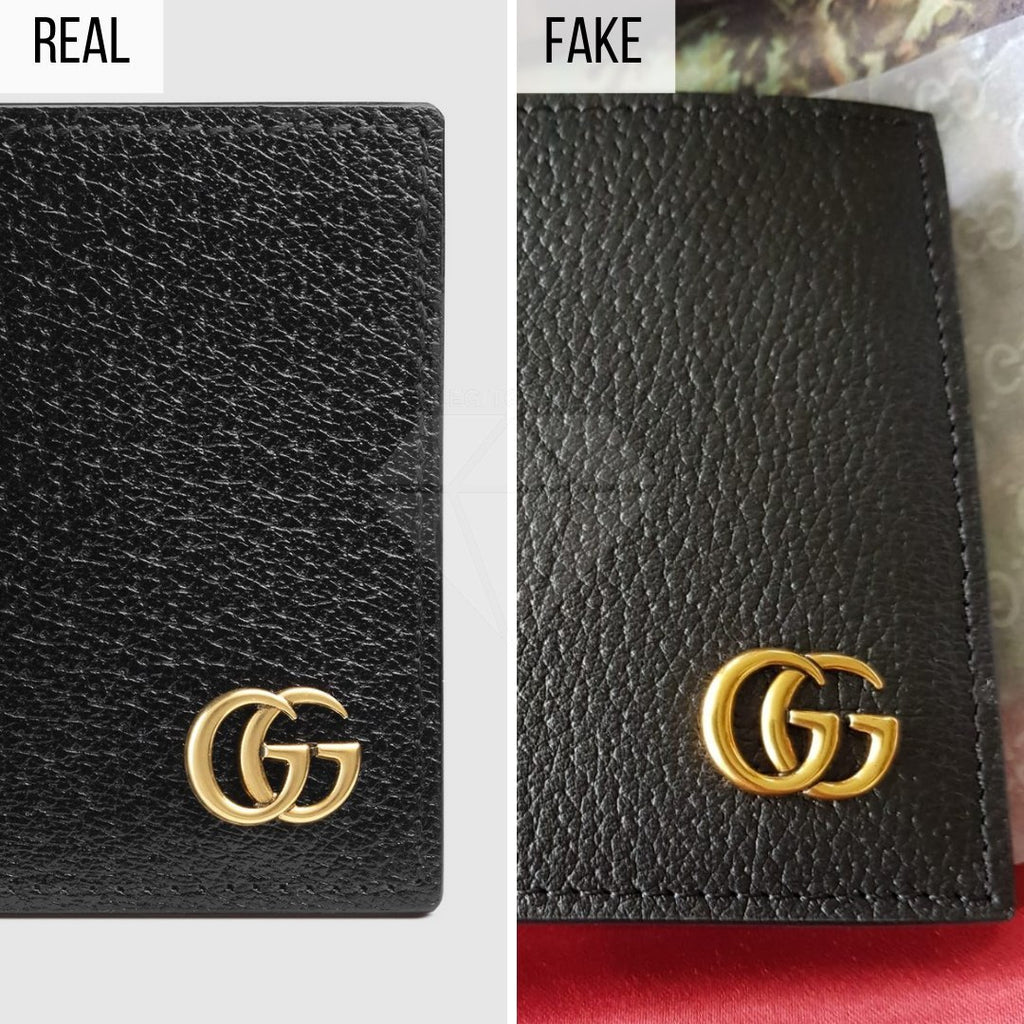 How To Spot a Fake Gucci Wallet: The General Look Method (GG Marmont Bi-Fold)