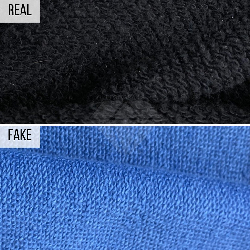 How To Spot a Fake Gucci Hoodie: The Fabric Method