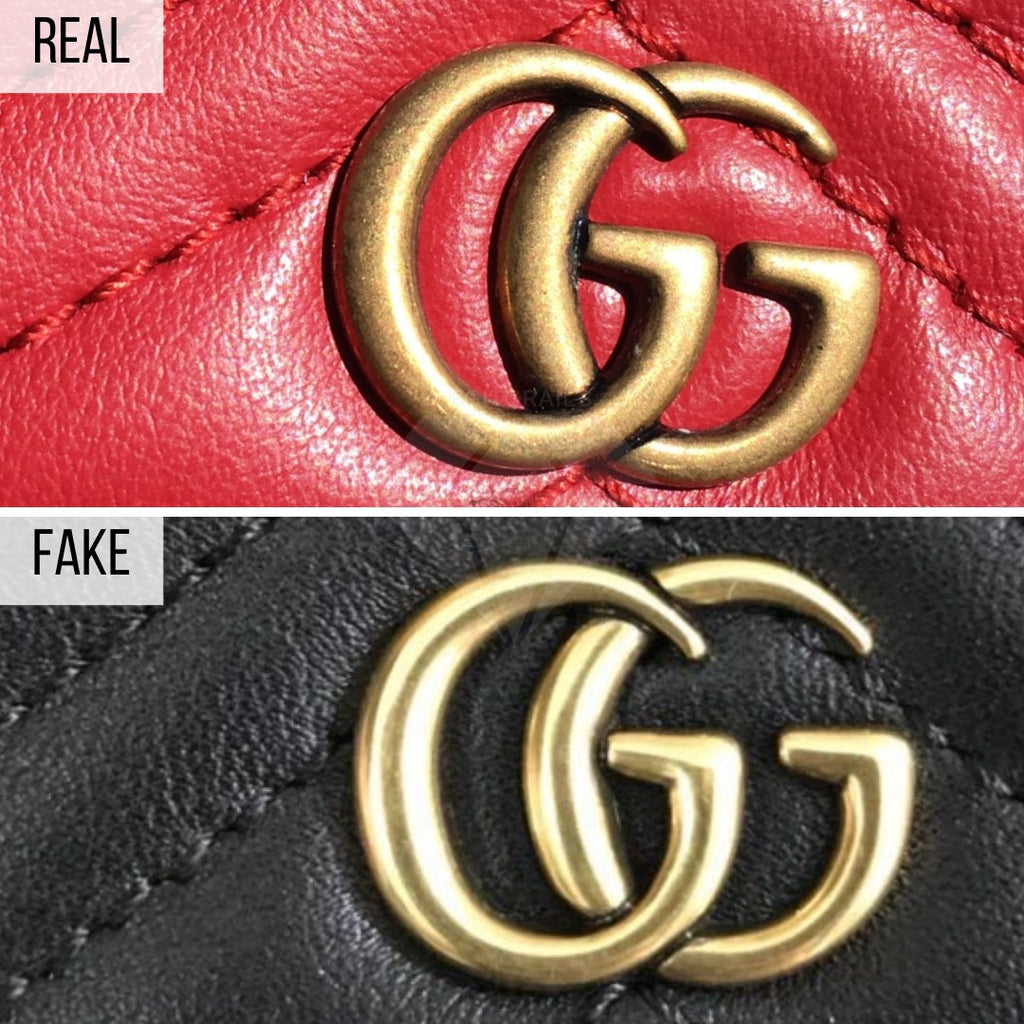 How To Spot a Fake Gucci Wallet: The Buckle Method