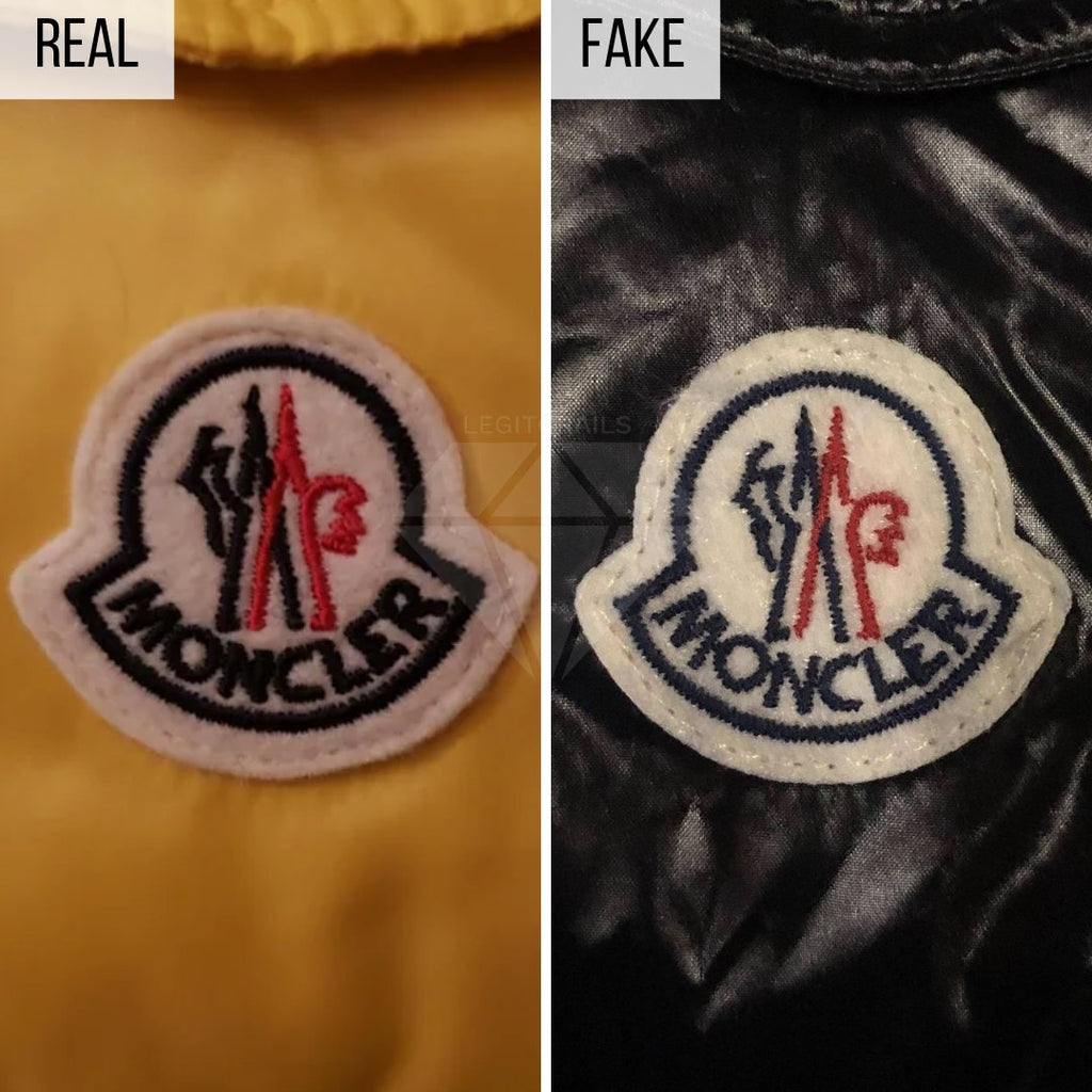 Moncler Maya Jacket Legit Check Guide: The Logo Method (Higher-Quality Replica)