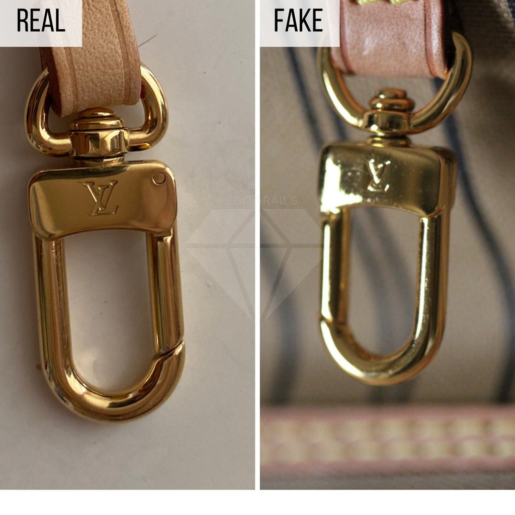 How To Spot a Fake Louis Vuitton Neverfull MM: The Hardware Method