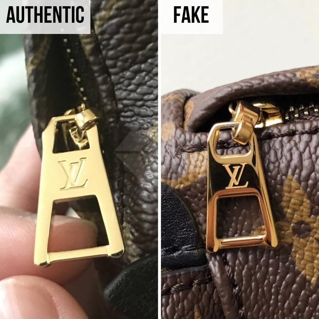 How To Tell If Louis Vuitton Palm Springs Mini Is Authentic: The Puller Method