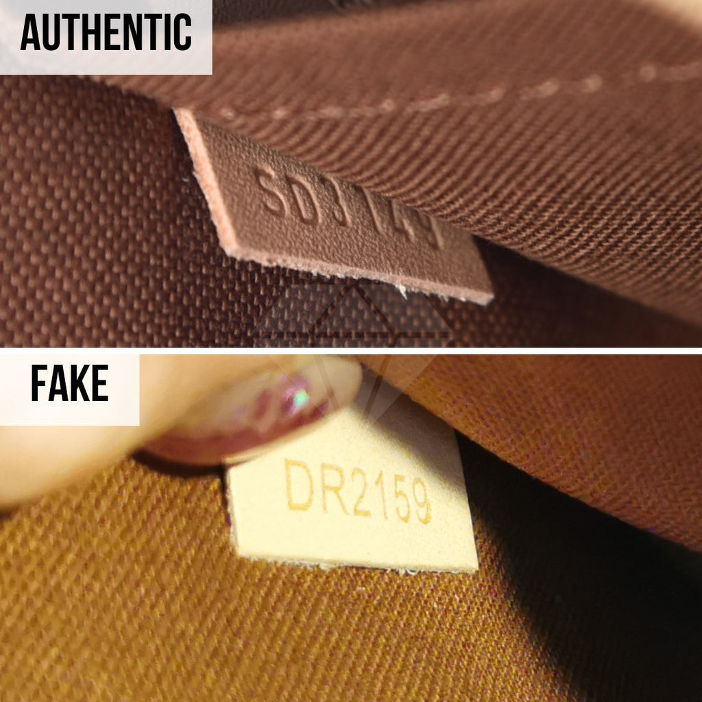 Louis Vuitton Multi Pochette Accessories Real VS Fake Guide: The Serial Number Method