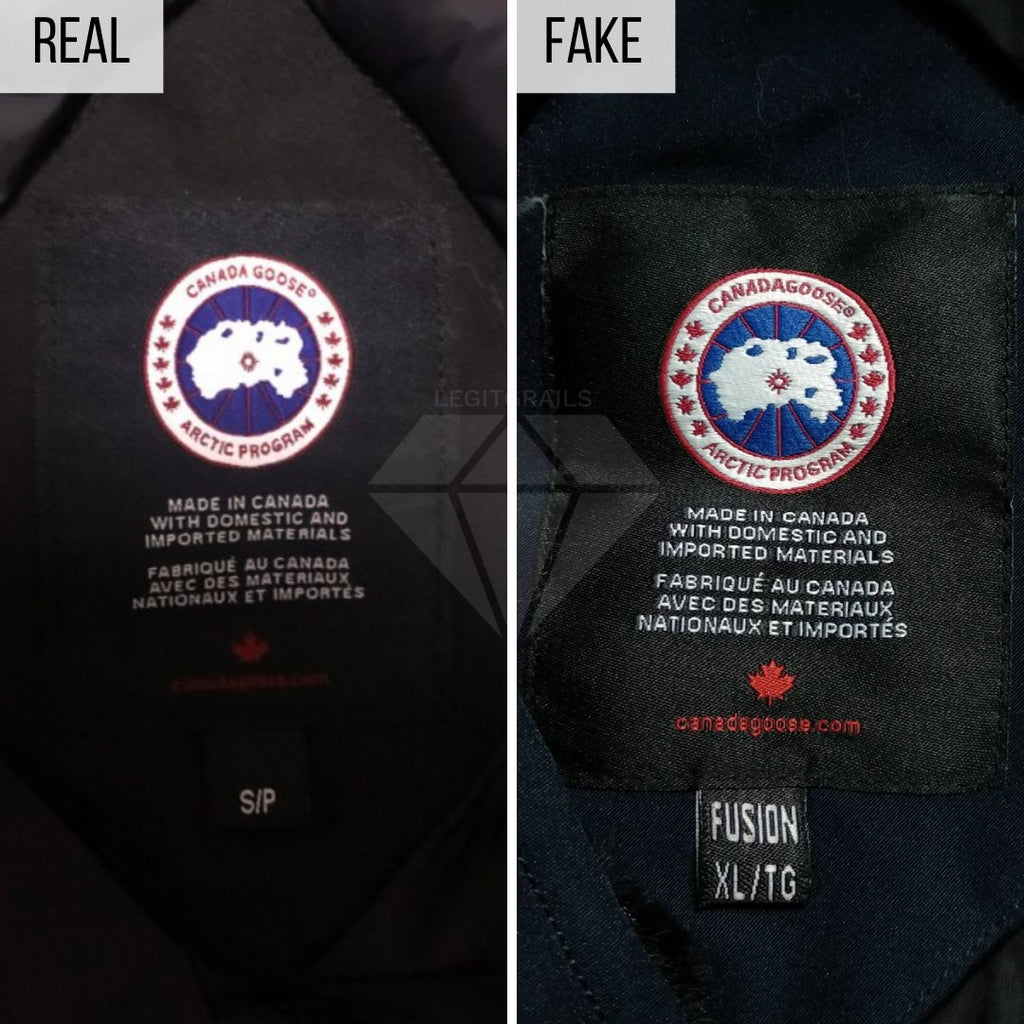 How To Spot a Fake Canada Goose Jacket: The Interior Tag Method