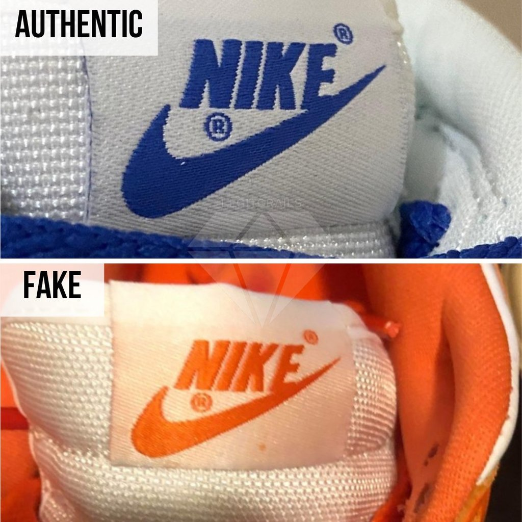 How To Authenticate Nike Dunk: The Tongue Method