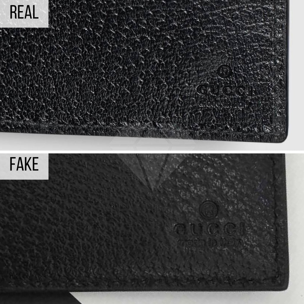 How To Spot a Fake Gucci Wallet: The Engraved Signature Method