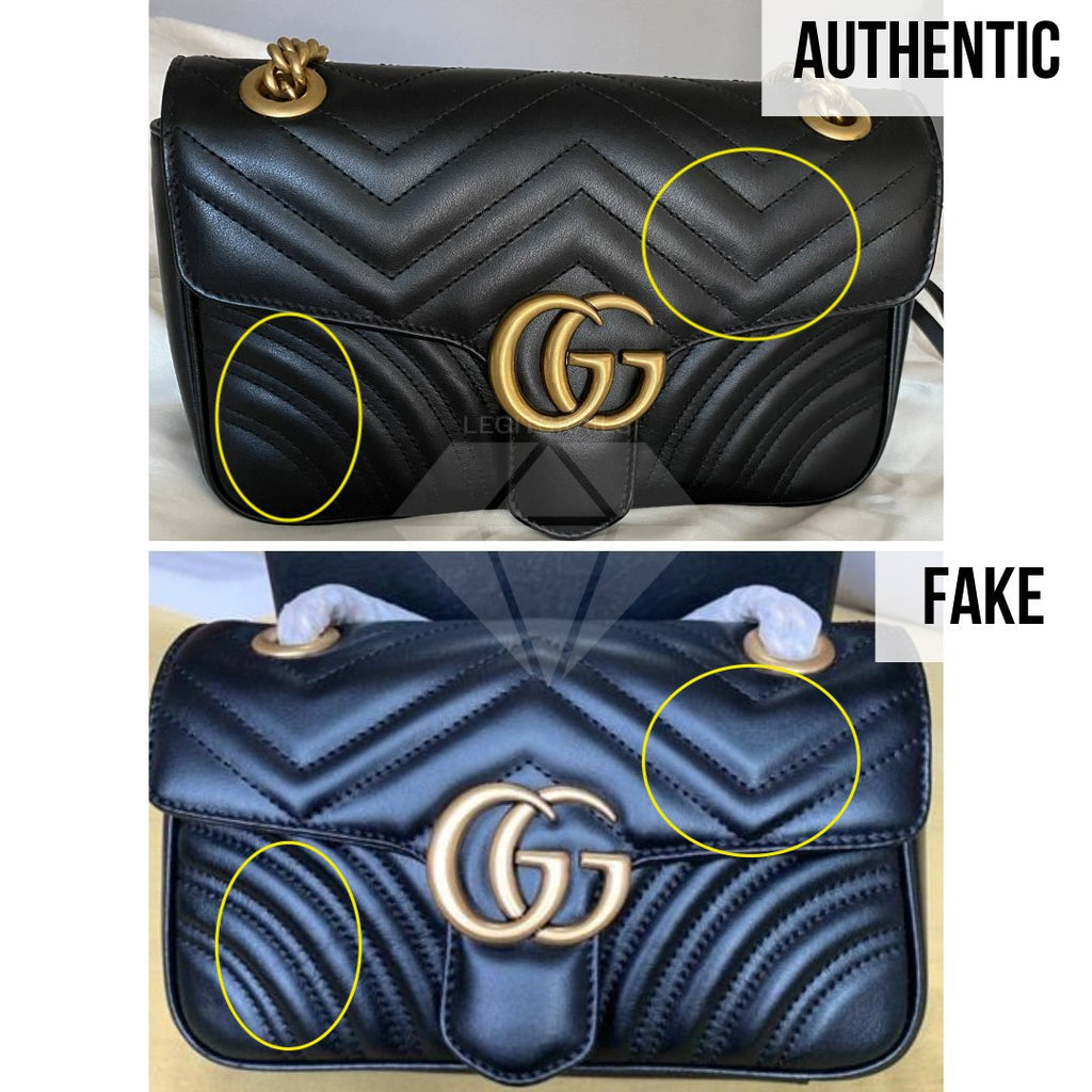 Gucci Marmont Bag Fake vs Real Guide: The Overall Look Method