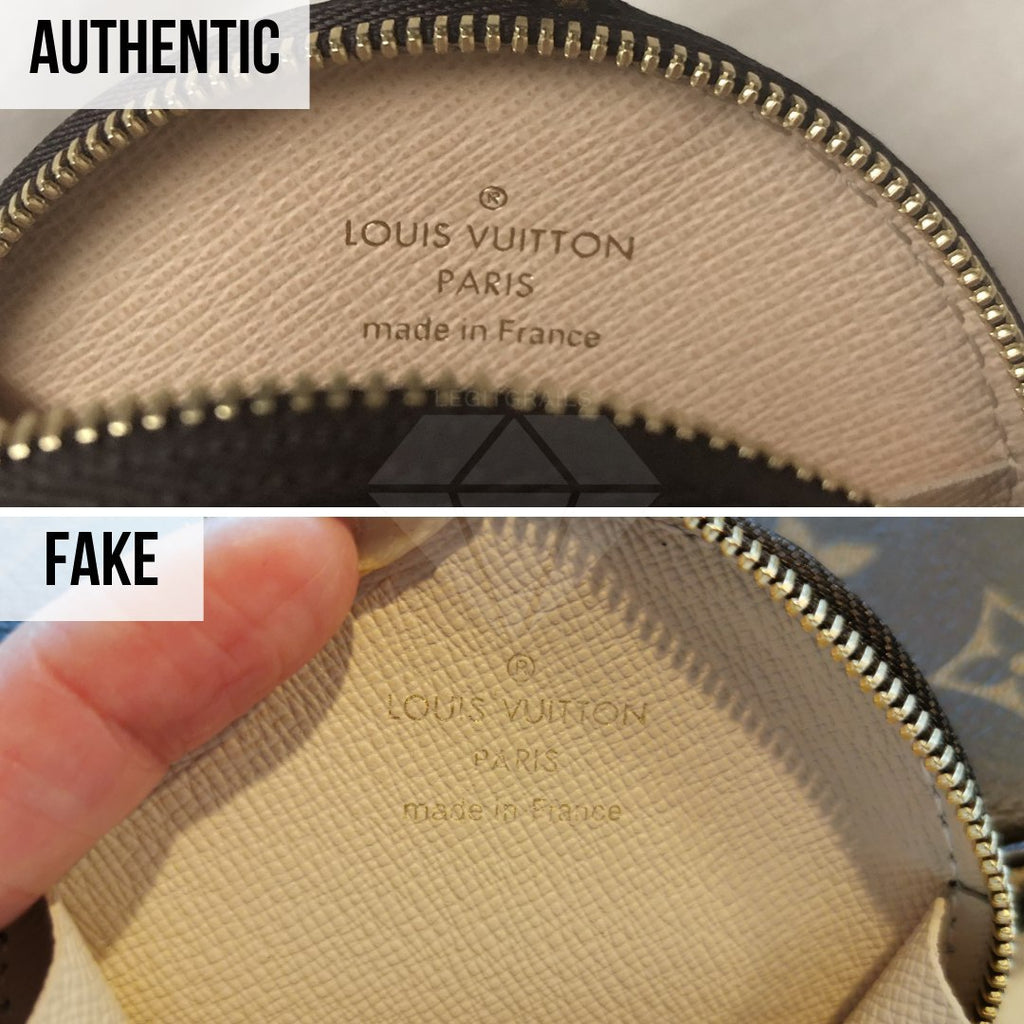 Louis Vuitton Multi Pochette Accessories Real VS Fake Guide: The LV Signature Method