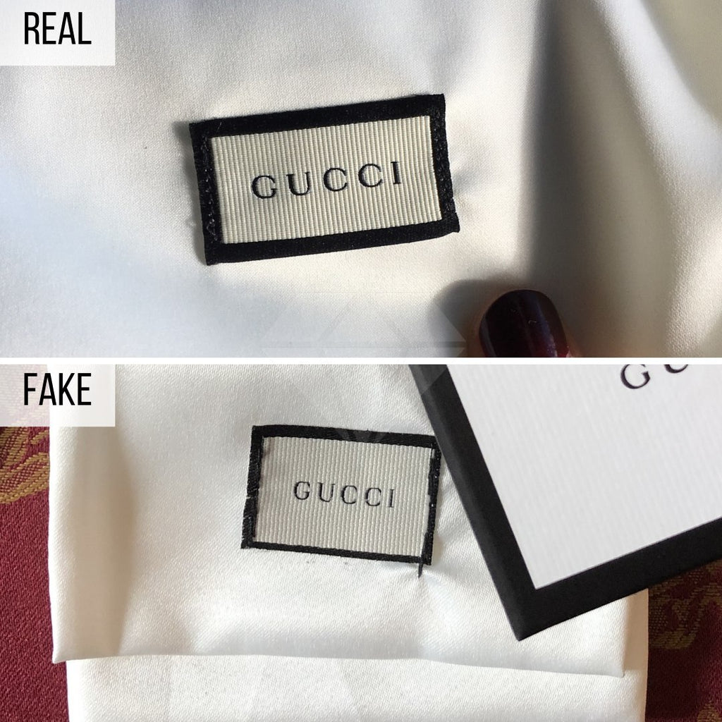 How To Spot a Fake Gucci Wallet: The Dust Bag Method