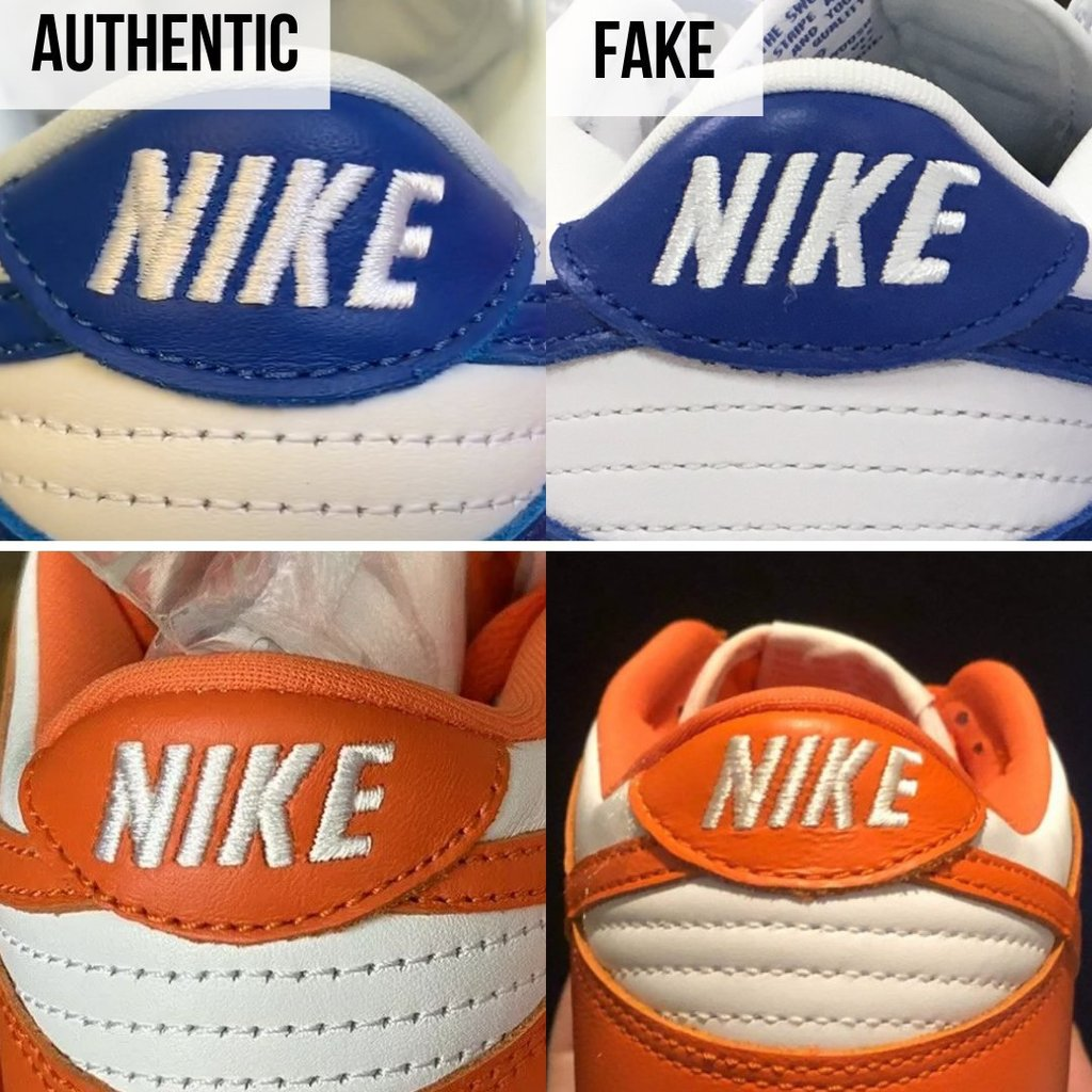 How To Authenticate Nike Dunk: The Heel Counter Method
