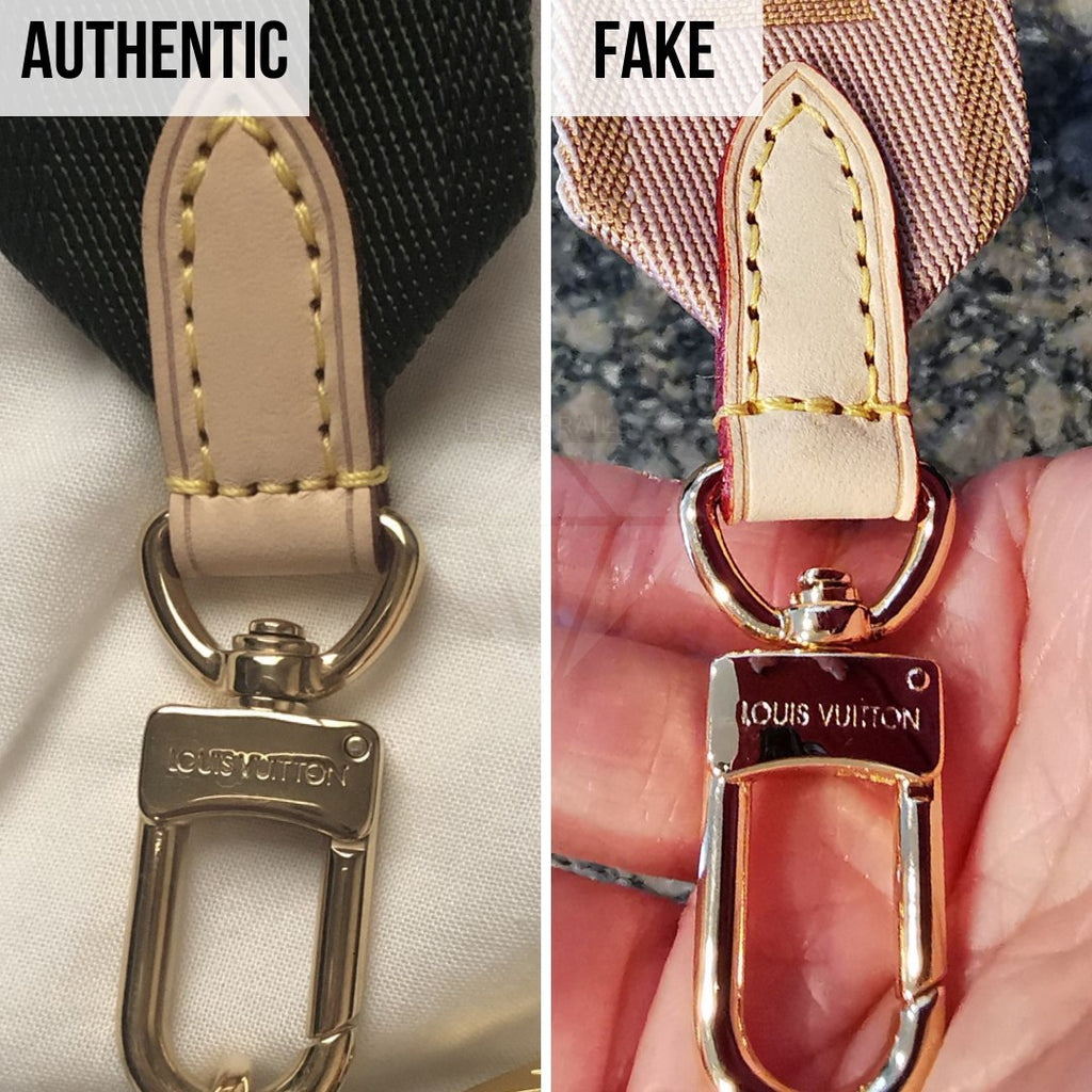 Louis Vuitton Multi Pochette Accessories Real VS Fake Guide: The Hardware Method