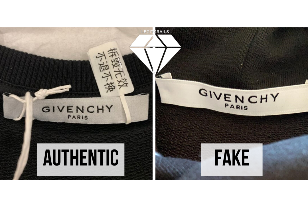 How to spot fake Givenchy signature sweatshirt | Givenchy Legit Check