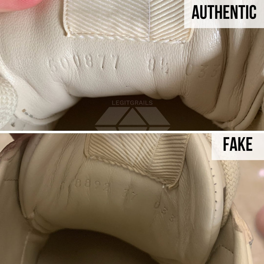 Gucci Rhyton Gucci Print Sneakers Legit Check Guide: The Inside of the Tongue Method